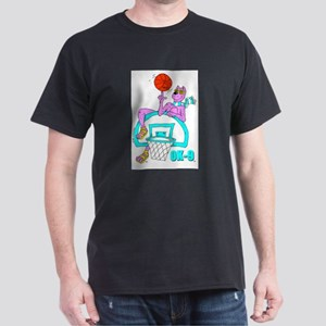 OK-9 (Basketball) Black T-Shirt