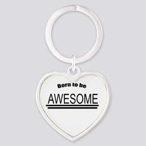Awesome-White Keychains