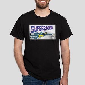 SUPERRABBI (SUPER RABBI) Black T-Shirt