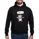 Cartoon Hamster Hoodie (dark)