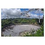 Arecibo Telescope Poster