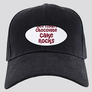 German Chocolate Cake Rocks Black Cap