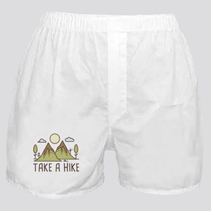 Take A Hike Boxer Shorts