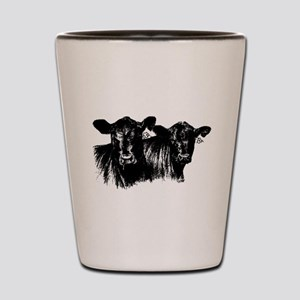 Cows Shot Glass