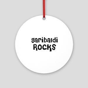 Garibaldi Rocks Ornament (Round)