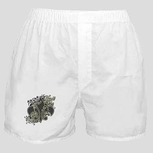 Fleur De Lis (Baroque) Boxer Shorts