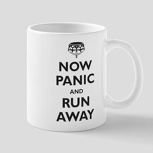 Now Panic and Run Away (parod Mug