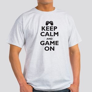 Keep Calm and Game On (parody Light T-Shirt