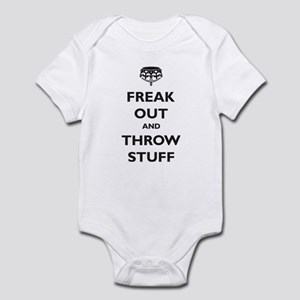 Freak Out and Throw Stuff (pa Infant Bodysuit
