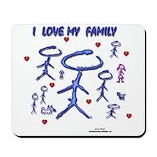 Love Family Mousepad