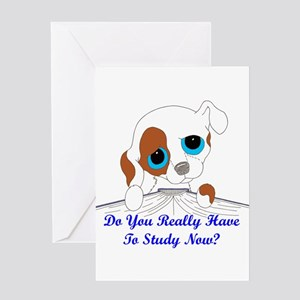 Do You Really Have To Study N Greeting Card