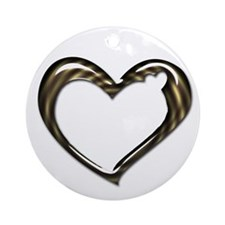 Heart of Love Ornament (Round)