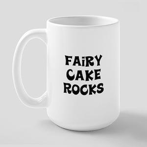 Fairy Cake  Rocks Large Mug