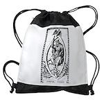 Mantegna Tarot Jupiter Drawstring Bag
