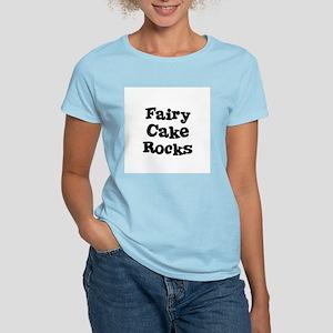 Fairy Cake  Rocks Women's Pink T-Shirt