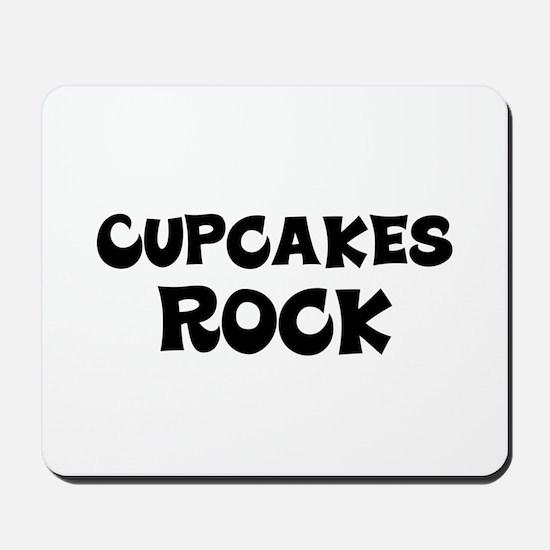 Cupcakes Rock Mousepad