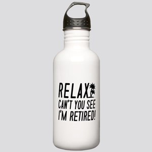 Relax I'm Retired Stainless Water Bottle 1.0L