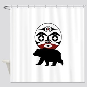 FOREST WANDERING Shower Curtain