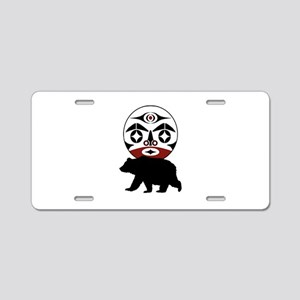 FOREST WANDERING Aluminum License Plate