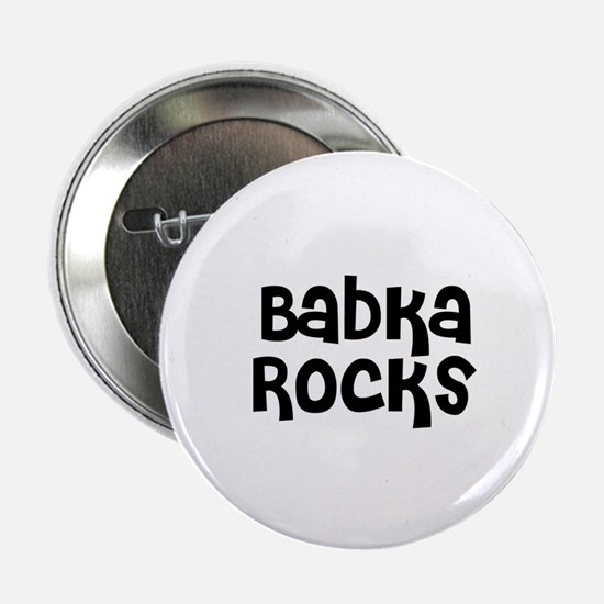Babka Rocks Button