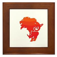 Africa Framed Tile