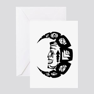 THE PROTECTOR Greeting Cards