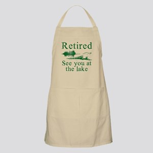 Retired See You At The Lake Light Apron