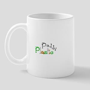 Plastic Paddy Mug