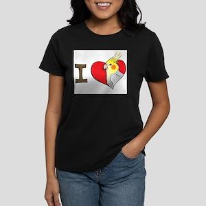 I heart cockatiels Ash Grey T-Shirt