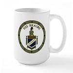 USS BRAINE Large Mug