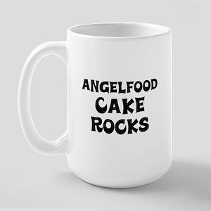 Angelfood Cake  Rocks Large Mug