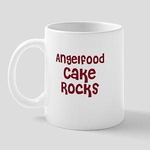 Angelfood Cake  Rocks Mug