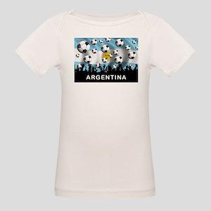 World Cup Argentina Organic Baby T-Shirt