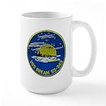 USS BREAM Large Mug