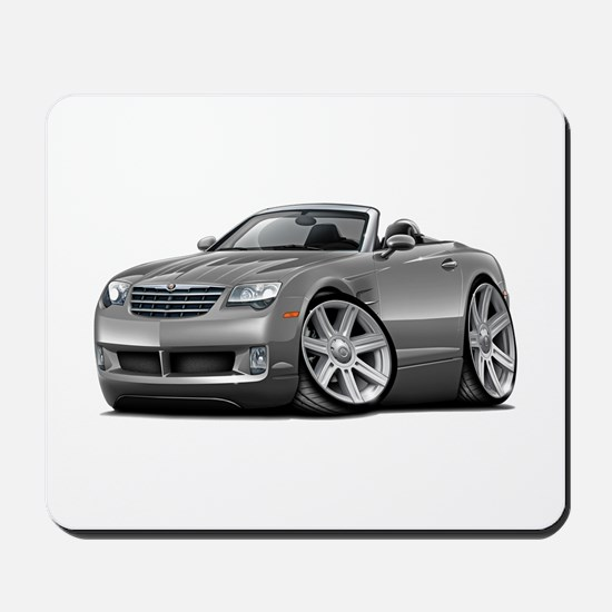 Crossfire Grey Car Mousepad