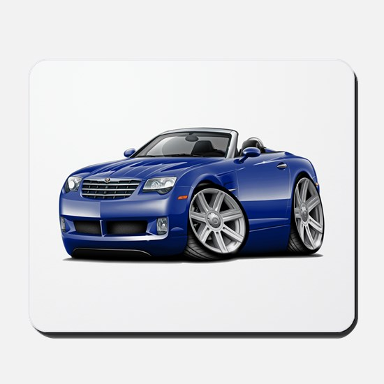 Crossfire Blue Convertible Mousepad
