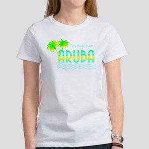 Aruba Palm Trees Women's T-Shirt