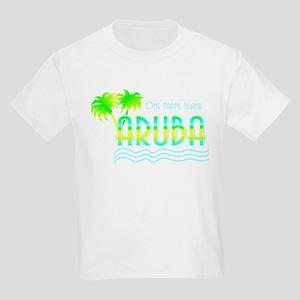 Aruba Palm Trees Kids T-Shirt
