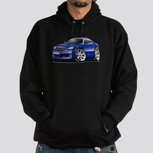 Crossfire Blue Car Hoodie (dark)