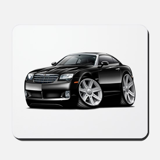 Crossfire Black Car Mousepad