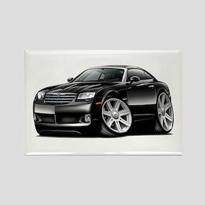 Crossfire Black Car Rectangle Magnet
