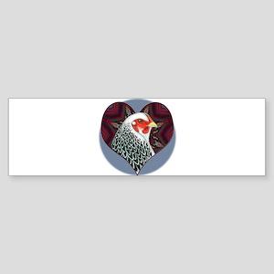 Brahma Heart Sticker (Bumper)