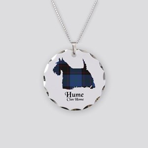Terrier-Hume.Home Necklace Circle Charm