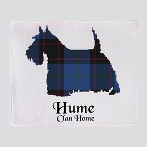 Terrier-Hume.Home Throw Blanket