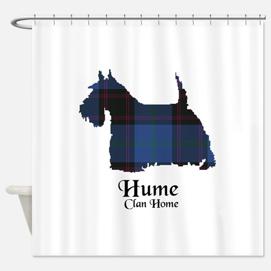 Terrier-Hume.Home Shower Curtain
