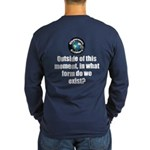 Outside This Moment Long Sleeve Dark T-Shirt