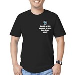 Outside This Moment Men's Fitted T-Shirt (dark)