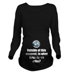 Outside This Moment Long Sleeve Maternity T-Shirt