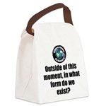Outside This Moment Canvas Lunch Bag