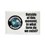 Outside This Moment Rectangle Magnet (100 Magnets
